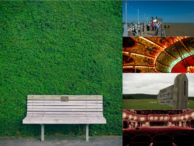 Memorial benches and 9 other public tributes to a loved one