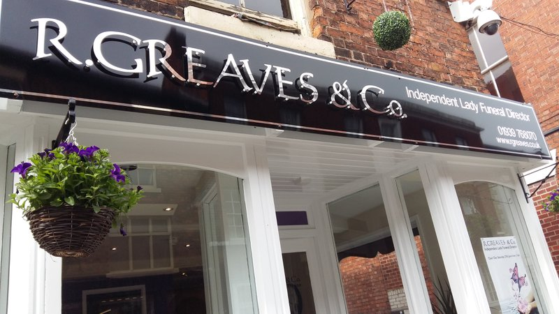 R.Greaves & Co, Shropshire, funeral director in Shropshire