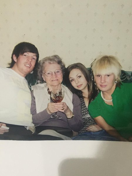 To the best nanny ever!! You were such a massive part of all of our life's forever in our hearts rest in peace nanny xx
