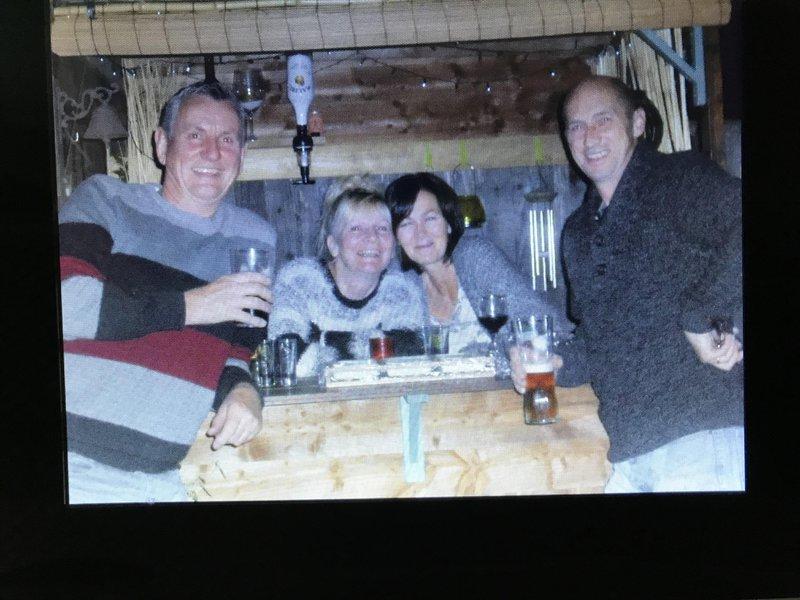 Great memories in our garden bar ... happy days 😊
