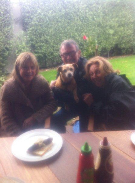 Maxine, Steve with (Asha)& Jan