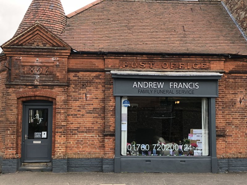 Andrew Francis Funeral Service, Swaffham, Norfolk, funeral director in Norfolk