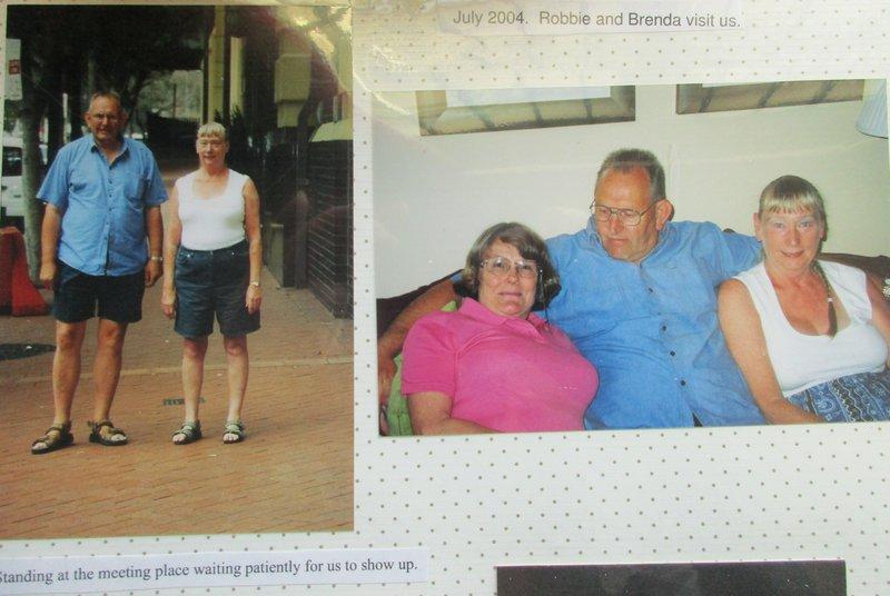 More of Rob and Brenda in Australia