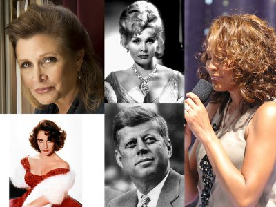Parting notes – the beautiful funeral songs of 10 celebrities