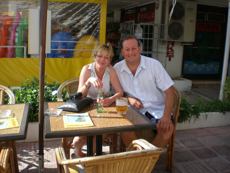 our 1st holiday together in alcudia
