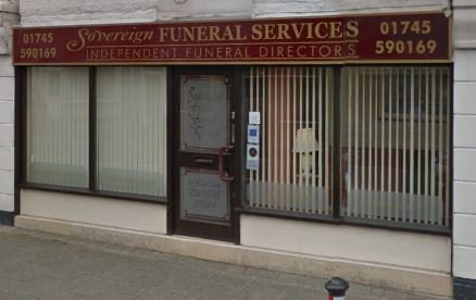 Sovereign Funeral Services, Rhyl High St