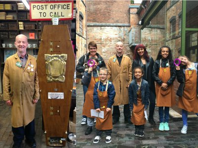 Step back in time at the charming Coffin Works museum