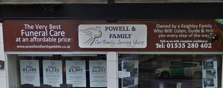 Melia Powell & Family Funeral Directors, Keighley