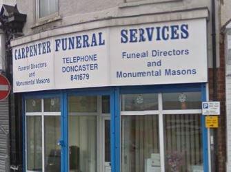 Charles Carpenter Funeral Services, Edlington