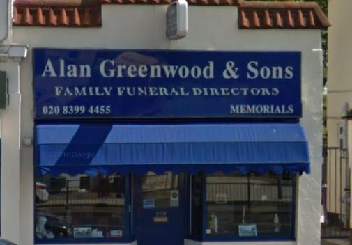 Alan Greenwood & Sons Surbiton, Surrey, funeral director in Surrey