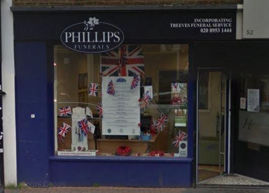 Philips Funerals, Borehamwood