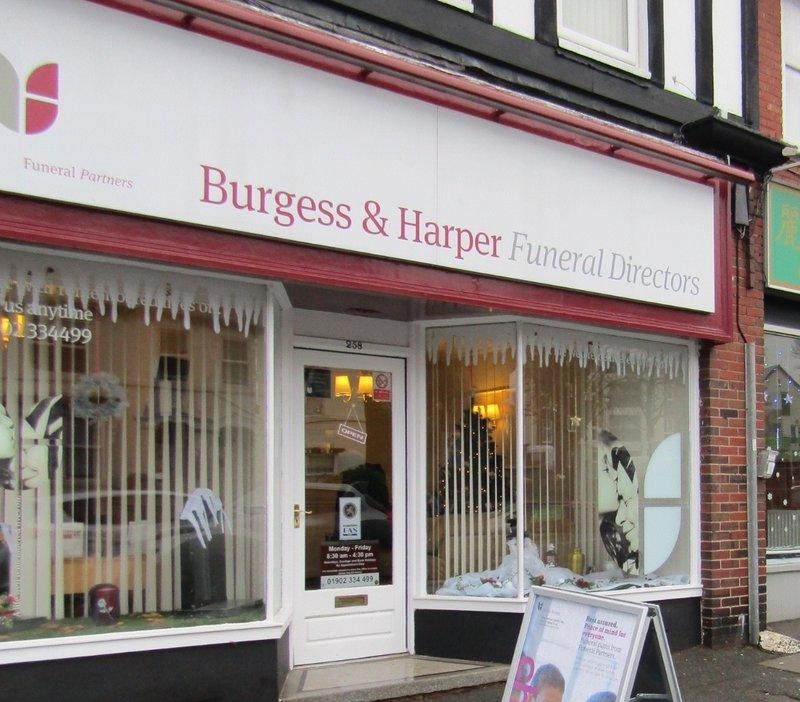 Burgess & Harper Funeral Directors Wolverhampton