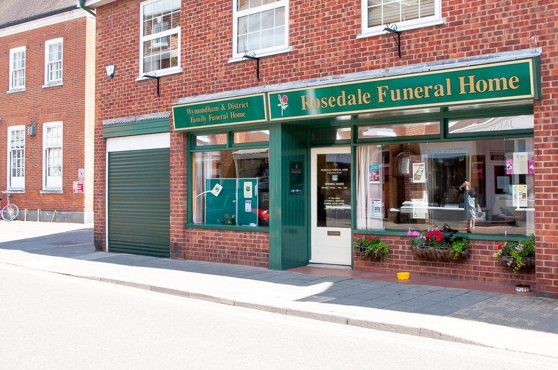 Rosedale Funeral Home, Wymondham, Norfolk, funeral director in Norfolk