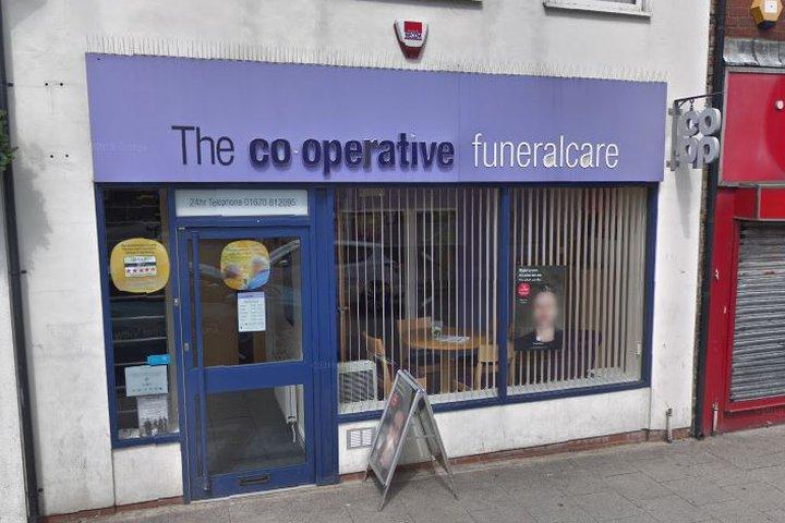 Co-op Funeralcare, Ashington
