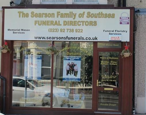 The Searson Family Funeral Service, Southsea