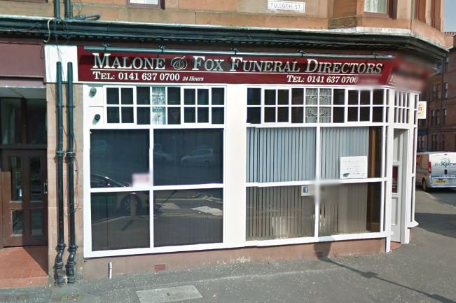 Malone & Fox Independent Funeral Directors, Cathcart