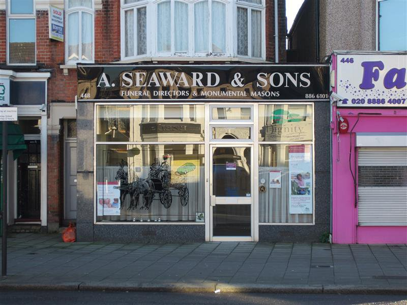 A Seaward & Sons Funeral Directors, London, funeral director in London