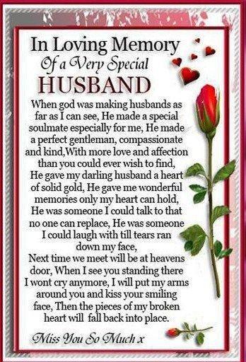 To my darling husband. Dot