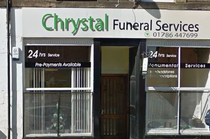 Chrystal Funeral Services Limited, Stirling