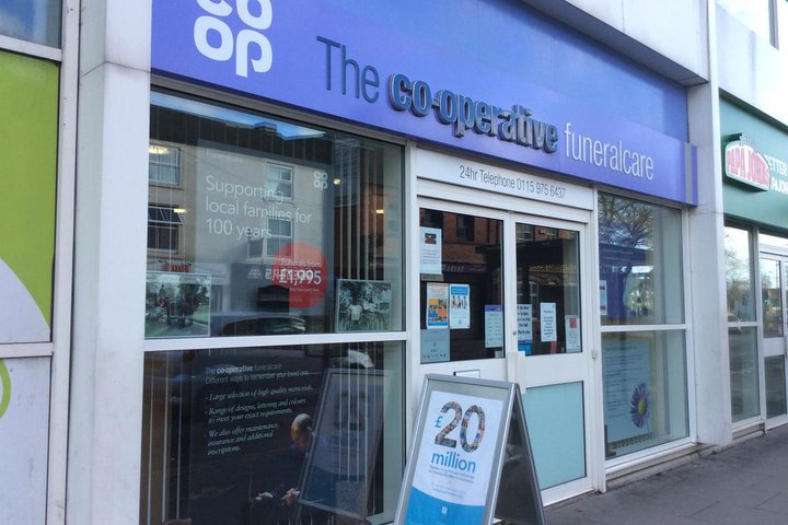 The Co-operative Funeralcare, Bulwell