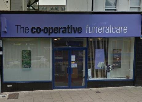 Co-op Funeralcare, Aldershot