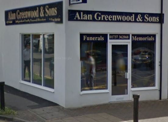 Alan Greenwood & Sons Epsom Downs, Surrey, funeral director in Surrey