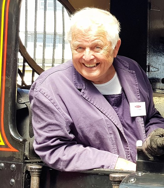 The happy engine driver.