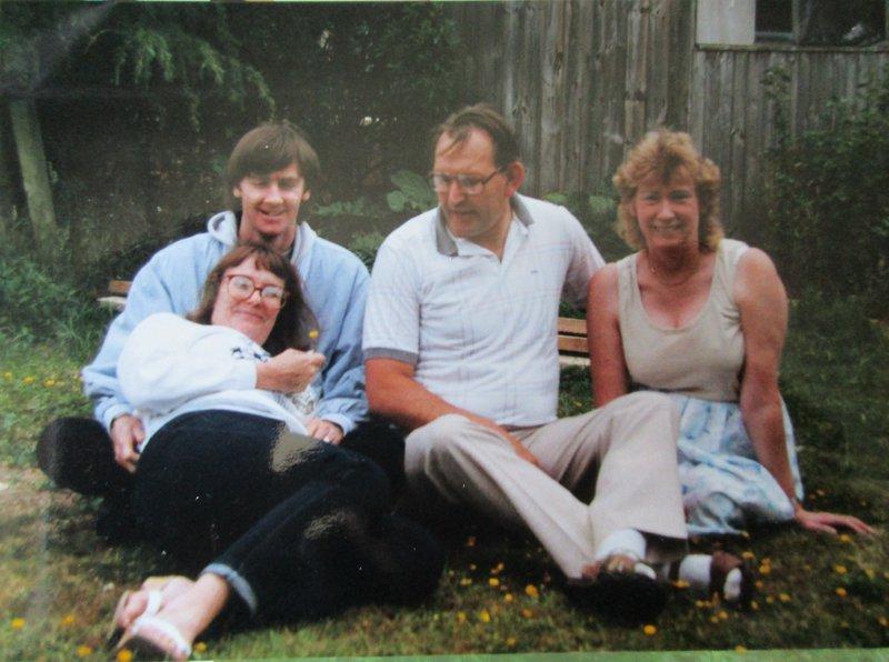 Luke & Stella visiting Rob and Brenda in Dorset