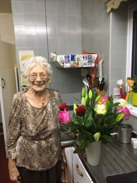 I just loved that smile, it has greeted me for many years and I am going to miss this lady so much X