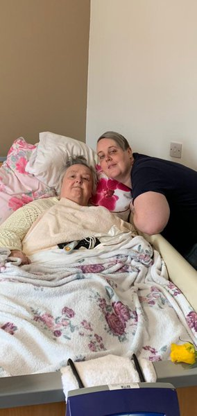 I love you always and forever I will never forget you nan I love and miss you so much my heart aches.  R.i.p my beautiful nan i love you xxxxxxxx