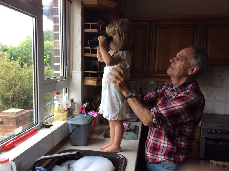 Grandad and Sophie xx