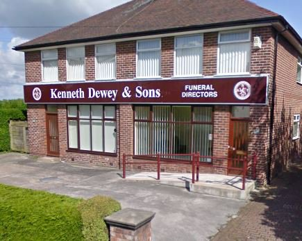Kenneth Dewey & Sons Funeral Directors, Timperley Village, Greater Manchester, funeral director in Greater Manchester