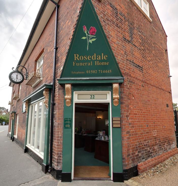 Rosedale Funeral Home, Beccles, Suffolk, funeral director in Suffolk