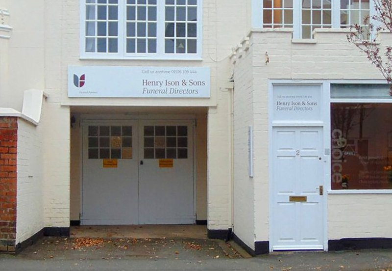 Henry Ison & Sons Funeral Directors, Leamington Spa, Warwickshire, funeral director in Warwickshire