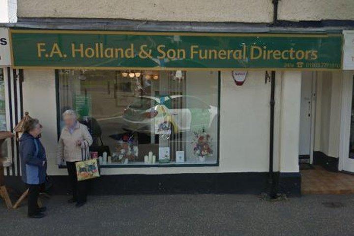 F A Holland Funeralcare, Rustington