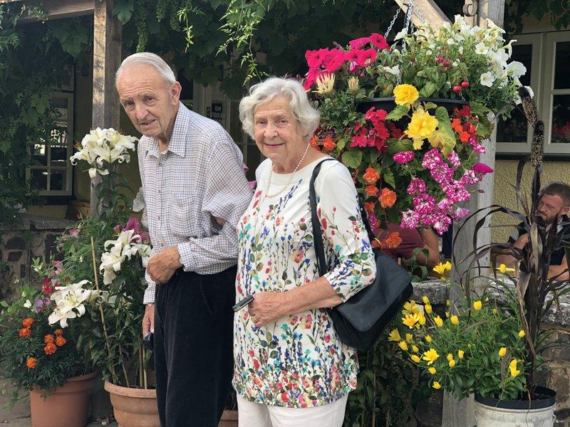 Mum and David July 2019