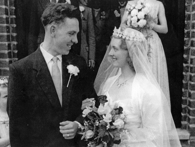 1956 Wedding Day