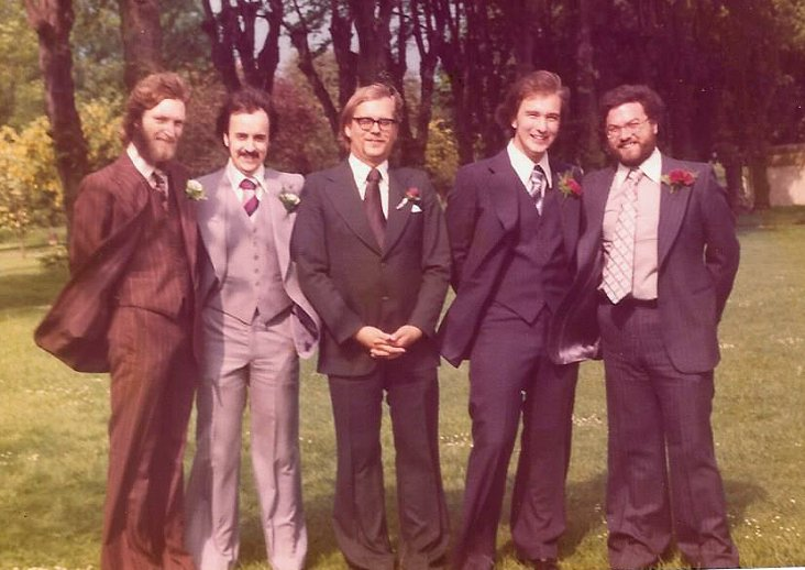 Our wedding 1977