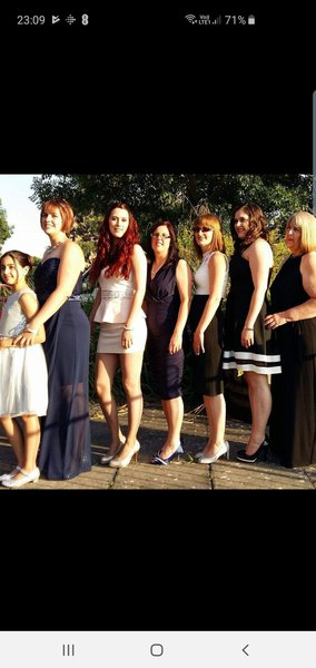 I love this, all of us girls together