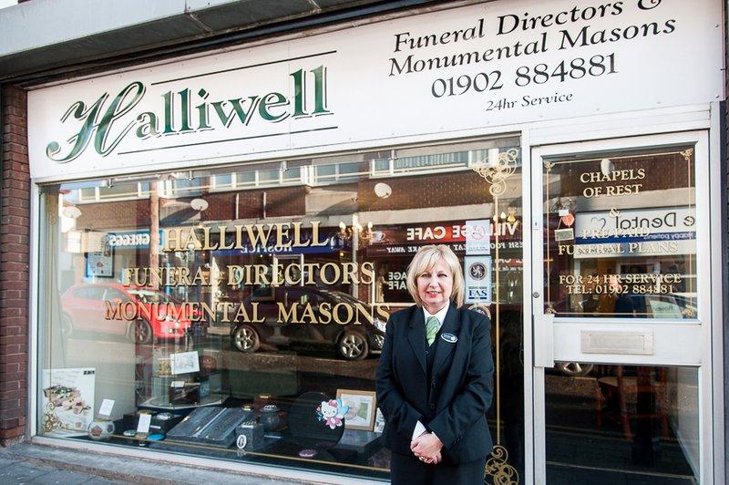 Halliwell Funeral Services, Coseley, West Midlands, funeral director in West Midlands