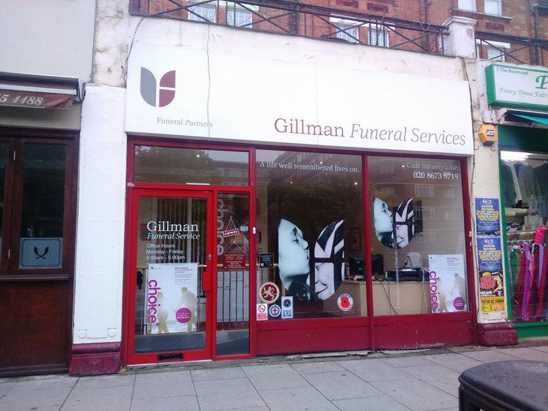 EA Godfrey & Gillman Funeral Service, Balham