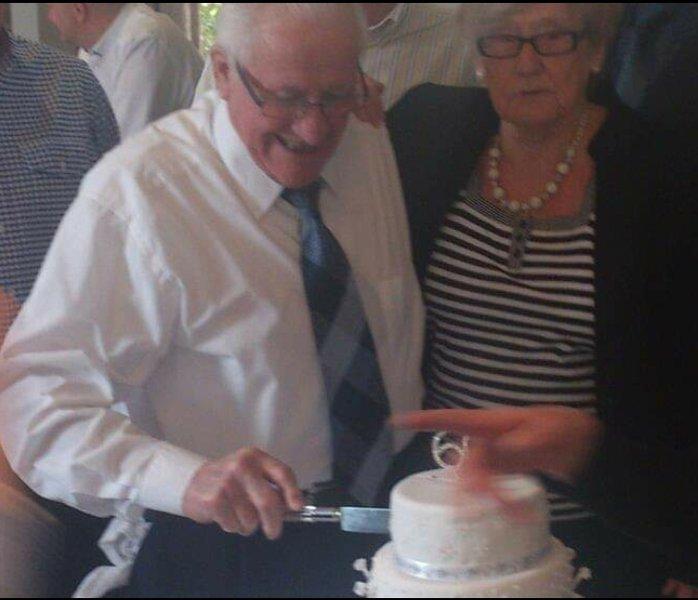 Nan and Grandad's 60th wedding anniversary, 2013