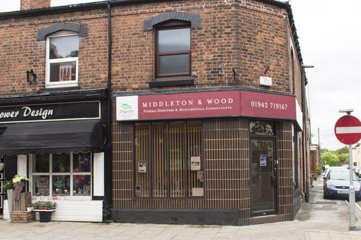 Middleton & Wood Funeral Directors, Warrington