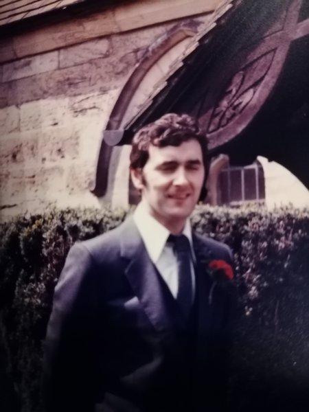 Art as my best man 37 years ago
