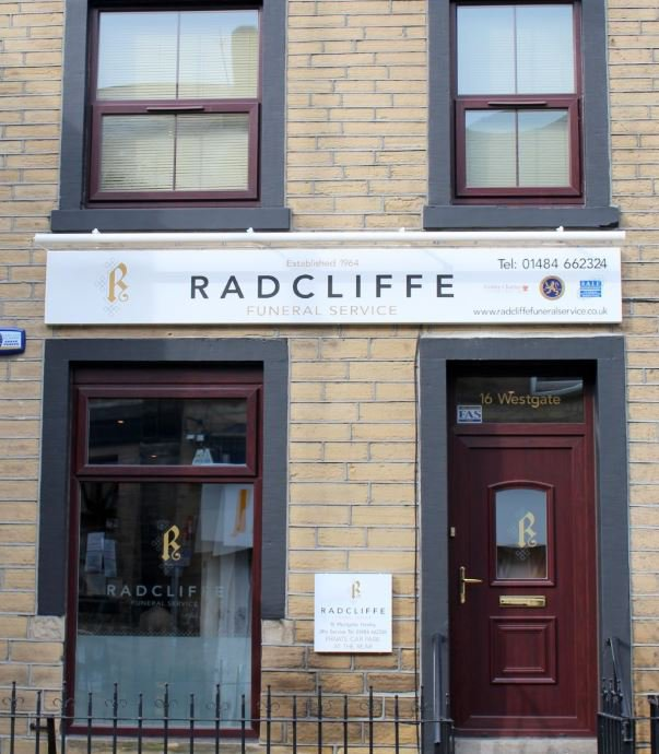 Radcliffe Funeral Service, Honley, Huddersfield, funeral director in Huddersfield