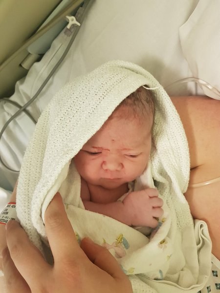Number 16 dad Lilly-Emma born 27th feb at 11.39 xx