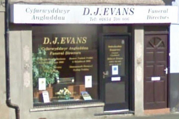 D.J Evans Funeral Directors, Machynlleth