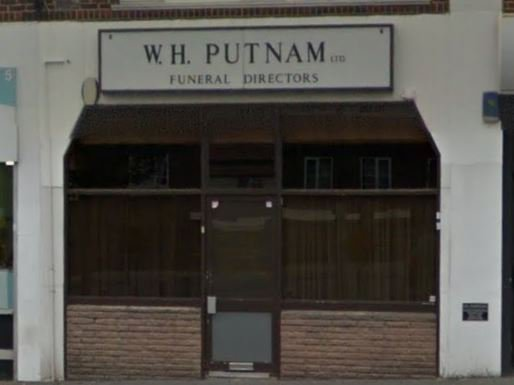 W H Putnam Funeral Directors, Edgware