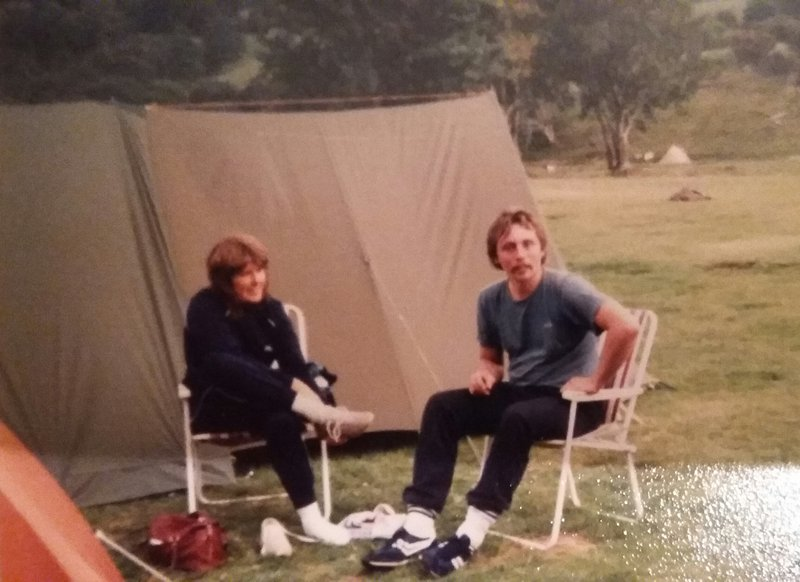 Camping in North Wales