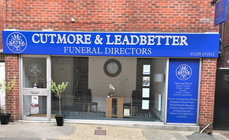 Cutmore & Leadbetter Funeral Directors, Hampshire, funeral director in Hampshire
